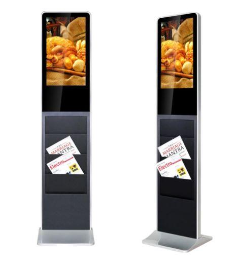 Flyer Holder Digital Kiosk